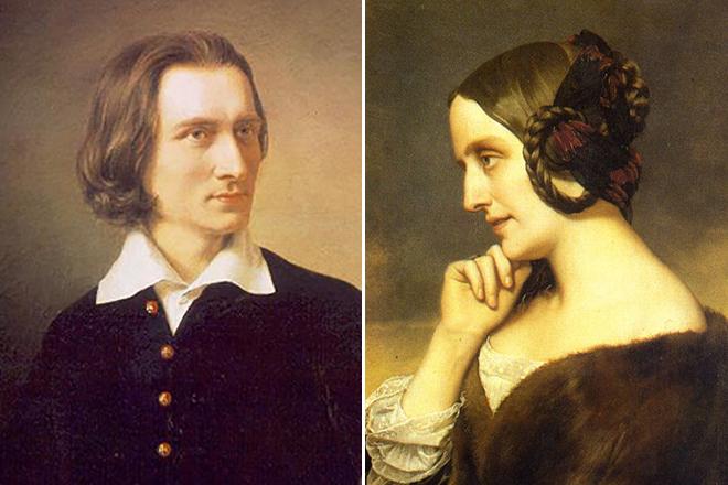Ференц Лист и Каролина Витгенштейн: история фееричной любви