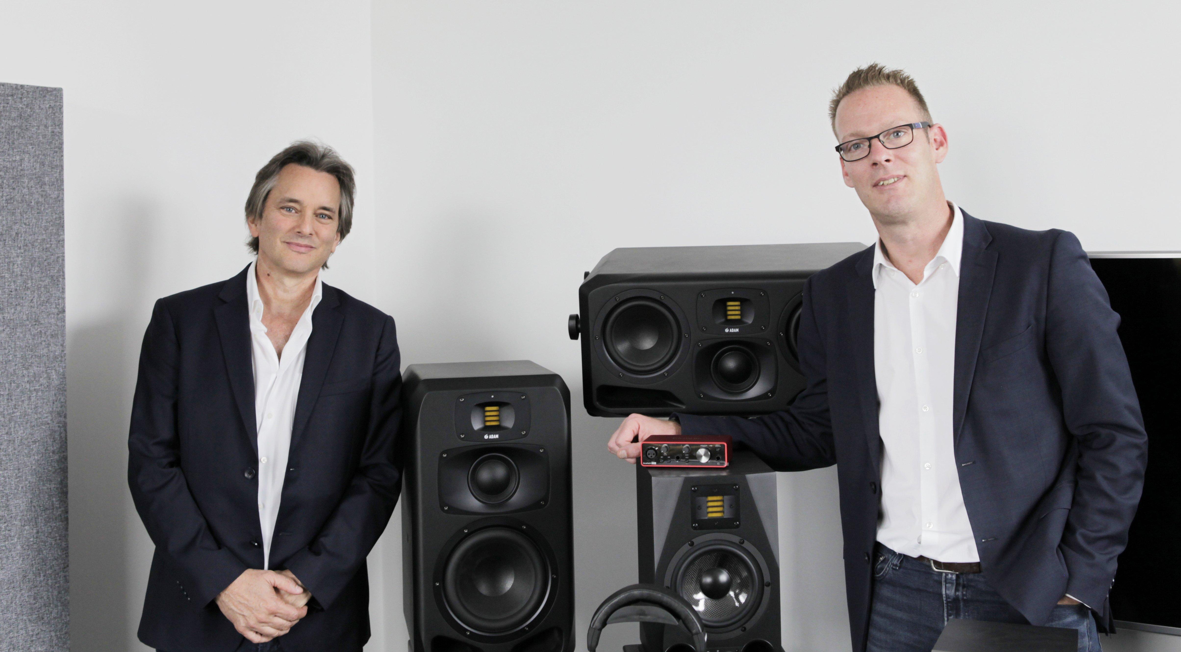 ADAM Audio становится частью Focusrite Group